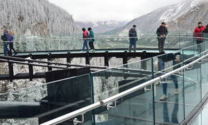 Glacier Skywalk Jasper, Canada