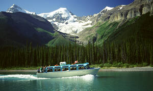 Spirit Island Cruise op Maligne Lake in Jasper NP