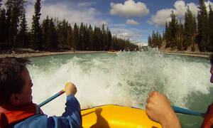 Jasper National Park white water raften