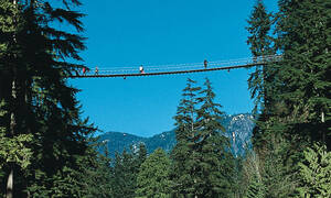 Vancouver Canada, Capilano Suspension Bridge Park