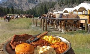 Yellowstone Old West Dinner Cookout