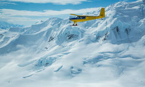 Kluane NP flightseeing