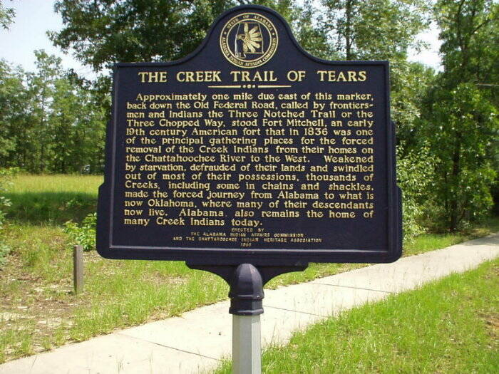 Creek Trail of Tears