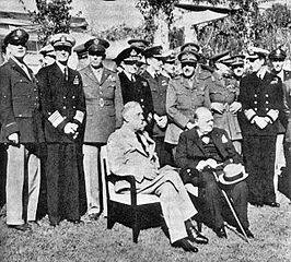 1943: Conferenties van Casablanca