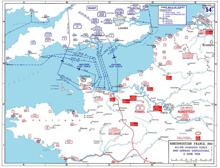 Operation Neptune, D-Day