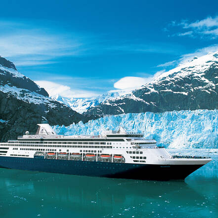 Holland America Line Cruise door Glacier Bay, Alaska