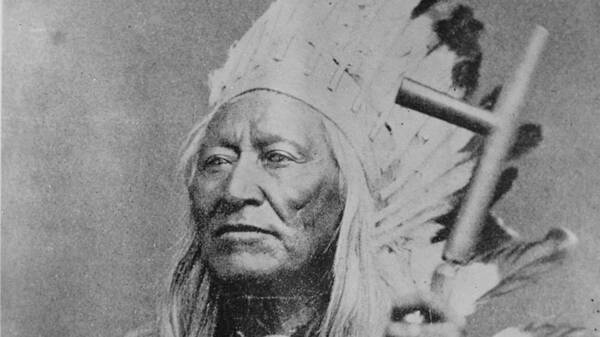 Shoshone opperhoofd Washakie